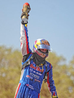 In his inaugural TORC season Bryce Menzies earned the title with seven race wins.