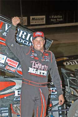 Jason Meyers Wins Another World of Outlaws Event