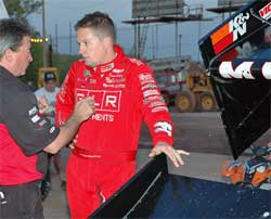 Jason Meyers is currently second in World of Outlaws point standings
