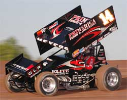Sprint car racer Jason Meyers wins with K&N products.