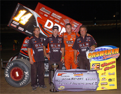 Six Nations Showdown Win at Ohsweken Speedway in Canada for Jason Meyers