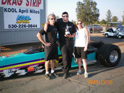The Mellow Insanity Racing family has been racing together since Chad was born.