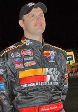 Travis Kvapil finished 6th in the series