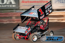 Michael Faccinto has earned five checkered flags this season, three of which were at the PlazaPark Raceway, at Visalia, California.
