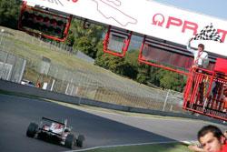 Michael Lewis' win at Autodromo Internazionale del Mugello was his second in the 2011 Formula 3 Italia Championship.