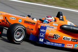 Michael Lewis was honored for the second year by being invited to the Formula 3 Masters at Zandvoort.