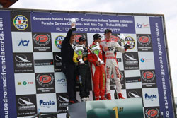 Finding the podium in only his second race of the season was a tremendous boast for the young California racer.