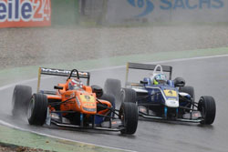 Despite the challenging conditions at Hockenheim Lewis managed to get up to P8 and was fighting to get into the top-5