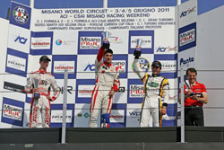 The second and six place finishes in Misano powered Lewis into third place overall for the Italian Championship.