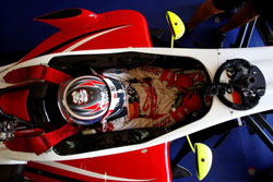 Michael Lewis says his he owes his success at Misano to his Prema team, as they worked very hard to get the car right.