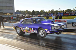Michelle has already had a good deal of success racing her 1968 Camaro SS, with a lot more to come.