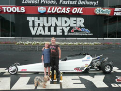 Future Furr Racing champions, seven-year-old Adiayn, and 11-year-old Madilyn.