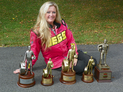 During her short stint in the NHRA, Michelle Furr has already managed to earn her fair share of victories