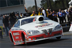 K&N Pro Stock competitor Mike Edwards' Penhall/K&N Pontiac GXP
