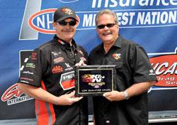 Mike Edwards Rewarded Top Spot at Gateway International Raceway