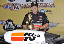 Edwards wins United Association Route 66 NHRA Nationals