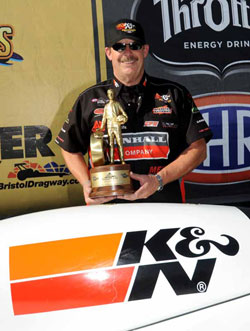 Pro Stock Champion Mike Edwards wins NHRA Thunder Valley Nationals in Bristol