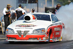 Mike Edwards and his Penhall/Interstate Batteries/K&N Pontiac GXP