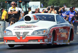 Mike Edwards at Brainerd International Raceway