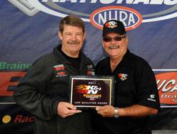 NHRA Pro Stock Driver Mike Edwards