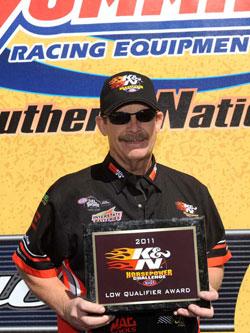 NHRA Pro Stock Champion Mike Edwards