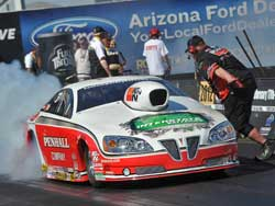 Mike Edwards and his Penhall/K&N Pontiac GXP