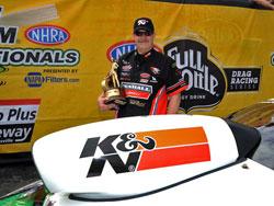2012 GatorNationals Pro Stock Champ Mike Edwards