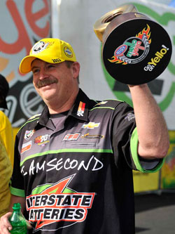 Mike Edwards wins NHRA 4-Wide Nationals in Pro Stock class