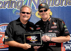Mike Edwards continues to hold down the number one spot in the 2010 K&N Horsepower Challenge