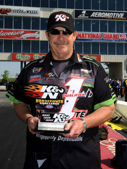 Pro Stock Wally for Mike Edwards at the Summit Racing Equipment NHRA Southern Nationals