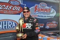 Mike Ferderer has fourteen NHRA Super Gas national event wins