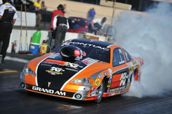 Mike Ferderer and his NHRA Super Gas K&N Pontiac Grand Am
