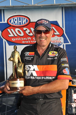 Three-time World Champion Mike Ferderer