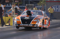 NHRA National Super Gas Racer Mike Ferderer