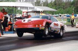 Mike Mans Racing Super Stock Pontiac Firebird
