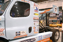 SEMA featured Freightliner race truck