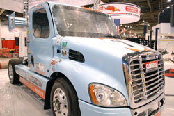 Freightliner race truck at SEMA