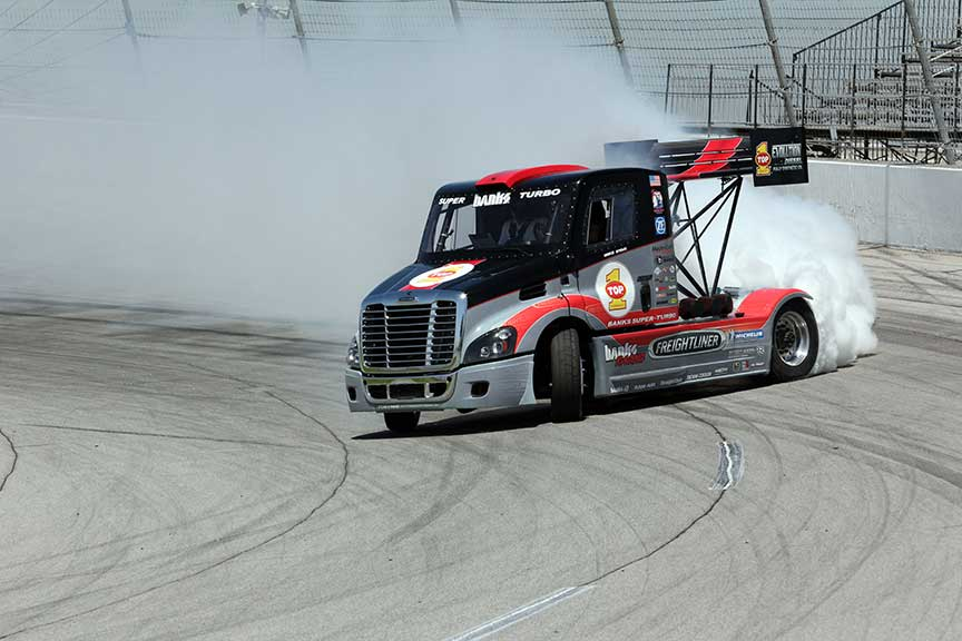 Stunt Driver, Mike Ryan, Depends Upon K&N For His Filtering Needs