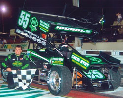 20 year veteran Tommy Nichols with the number 55 car