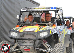 Guthrie Sr. and his son Mitch took the win at the 2013 King of Hammers in his Polaris RZR XP 900 SxS UTV.