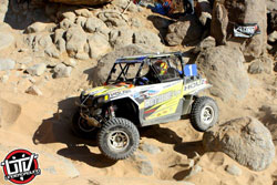 Guthrie's experience rock crawling in the area paid off big time during the race.