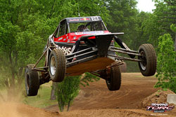 At fourteen yeas of age, Mitchell DeJong has earned the respect of older and more experienced drivers in the Traxxas TORC Series