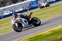 MJM rider, Roger Hayden, began the 2012 season with two podium finishes at the Daytona International Speedway.