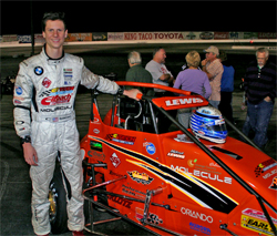 Turkey Night Grand Prix Third Place finish for Western Speed Racer Michael Lewis