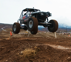 XRRA Moab Race was set agains tthe backdrop of the La Sal Mountains in Utah, photo by Chad Jock Photography
