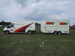 K&N's Mobile Show Unit in the UK