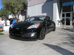 Modified 2010 Hyundai Genesis 3.8 liter V6 Coupe