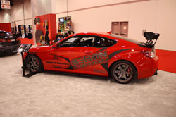 2010 Hyundai Genesis Coupe on Display at the 2009 SEMA Show