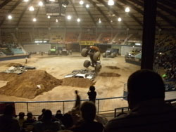 Indoor Monster Truck Arena