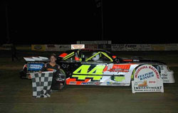 Morseman is the defending Woodhull Raceway Street Stock Track Champion and he's looking strong to repeat.